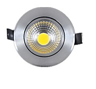 Недорогие -подсветка 5 w cob 450-500lm с возможностью поворота с регулировкой яркости встраиваемых фонарей переменного тока 220-240v