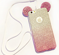 cheap -For iPhone 8 iPhone 8 Plus iPhone 6 iPhone 6 Plus Case Cover Other Back Cover Case Glitter Shine Soft TPU for iPhone 8 Plus iPhone 8