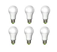 baratos -980 lm E26/E27 Lâmpada Redonda LED A60(A19) 1 leds COB Branco Frio AC 100-240V