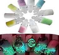 Недорогие -1 комплект (10 бутылка) ногтей блеск сверкающих украшения ногтей красоты инструменты nc173