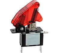 Недорогие -jtron красный / синий водить автомобиль освещенную тумблер включения / выключения (12v / 20а)