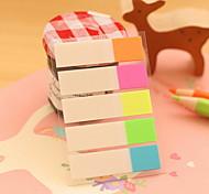 cheap -Half Color Stripe Self-Stick Notes(1 PCS)