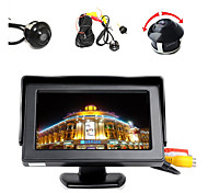 "4.3"" LCD Color Display Monitor+360° Front/Sides/Rear Reverse Parking HD Camera"