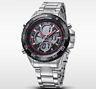 cheap -WEIDE® Men's Quartz Full Steel Military Watch Luxury Brand Analog LCD Digital Display Cool Watch Unique Watch