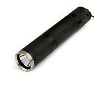 LED Flashlights / Torch LED 1000 lm 3 Mode Cree XM-L T6 with Batteries and Charger Rechargeable Tactical Camping/Hiking/Caving