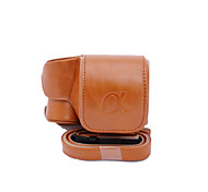 Dengpin® PU Leather Camera Case Bag Cover for Sony ILCE-6300 A6300 16-50 Lens (Assorted Colors)
