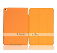 Solid Color Auto Sleep/Wake Up PU Folding Case Cover  for iPad mini 4 (Assorted Colors)