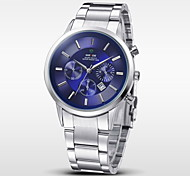 WEIDE® Men Quartz Sport Watch Luxury Brand Full Steel Complete Calendar Wristwatch Cool Watch Unique Watch Fashion Watch