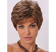 cheap -Synthetic Wig Wavy With Bangs Women's Capless Carnival Wig Halloween Wig Natural Wigs Short Synthetic Hair