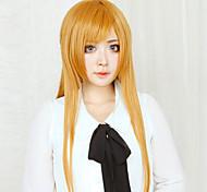cheap -Cosplay Wigs Sword Art Online Asuna Yuuki Anime Cosplay Wigs 80 CM Heat Resistant Fiber Women's