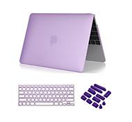 """3 in 1 kristallklare Soft-Touch-Fall mit Tastaturabdeckung und Staubstecker für MacBook Pro 13 """"/ 15 '' mit Retina"""