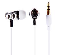 3,5 мм стерео наушники-вкладыши наушники Earbuds ПВ-618 для Ipod / Ipad / iphone / mp3