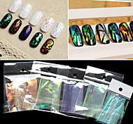 5 шт / комплект, 5 цветов смешанных, Наир художественное оформление бумага 20см / шт - ню упаковка