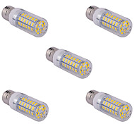 cheap -5 pcs E14/G9/E26/E27 15 W 60 SMD 5730 1500 LM Warm White/Cool White Corn Bulbs AC 110/220 V