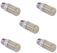 abordables -5 PC e14 / G9 / E26 / E27 15 w 60 SMD 5730 1500 lm caliente fresco bombillas maíz blanco / blanco ac 110/220 V