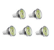 6W GU10 Lâmpadas de Foco de LED 48 leds Branco Quente Branco Natural 500-550lm 3500/5000K AC 100-240V