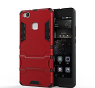 For Huawei Case / P9 / P9 Lite / P8 / P8 Lite / Mate 8 Shockproof / with Stand Case Back Cover Case Armor Hard PC for Huawei Honor 5X