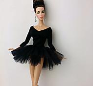 Party/Abends Kleider Für Barbie-Puppe Kleider Für Mädchen Puppe Spielzeug