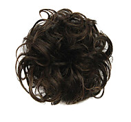 cheap -chignons Synthetic Wig Curly Classic Layered Haircut Updo High Quality Women's Cosplay Wig Short Synthetic Hair