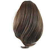 Medium Auburn Кулиска Естественные волны Конские хвостики Синтетический Волосы Наращивание волос