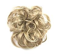 Недорогие -Парики из искусственных волос / Шиньоны Кудрявый / Классика Стрижка каскад Искусственные волосы Updo Парик Жен. Короткие Парики для