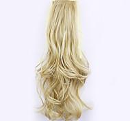 золотой длина 50см завод прямые продажи связать тип локон хвощ волос хвостик (цвет 25/613)