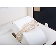 South Korea Hand Decorated With Gold Wire Mesh Bracelet