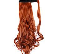 парик коричневый 45см синтетический высокая температура проволоки фигурная хвощ цвет 119