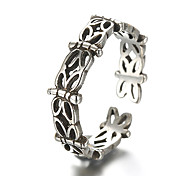 Unisex Vintage Pattern Punk Dragonfly Antique Sterling Silver Ring Band Rings Daily / Casual 1pc