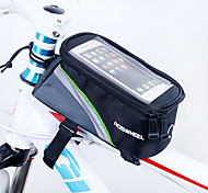 ROSWHEEL Bike Frame Bag Cell Phone Bag 4.8 inch Waterproof Zipper Wearable Moistureproof Shockproof Touch Screen Cycling for Iphone 8 / 7