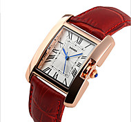 Women Fashion Trend In Students Ms Han Edition Leather High-Grade Quartz Watch Strap Watch