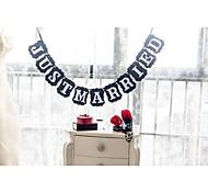 abordables -Mariage / Anniversaire / Fiançailles / Enterrement de Vie de Jeune Fille Papier cartonné Décorations de Mariage Thème plage / Thème