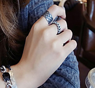 Кольца Мода / Регулируется Повседневные Бижутерия Женский / Мужчины Кольца на вторую фалангу / Классические кольца 1 комплект,Стандартный