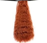 парик темно-бордовый 50см воды синтетическая высокая температура проволоки горячей кукурузы хвоща цвет 119