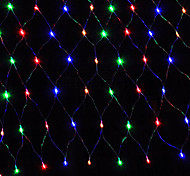 cheap -String Lights 96 LEDs Warm White Pink Yellow Blue Red Rechargeable Waterproof 100-240V