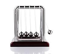 cheap -Mini Desktop Newton's Cradle Classic Newtons Cradle Balance Balls Science Psychology Puzzle Desk Toy