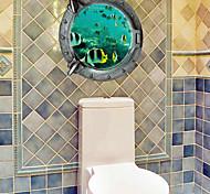 3D Наклейки Простые наклейки / 3D наклейки Декоративные наклейки на стены,PVC материал Съемная Украшение дома Наклейка на стену