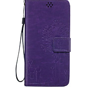 Fashion Print Leather Flip Cell Phone Case Cover For Galaxy Core Prime With Wallet & Stand+Hand Strap