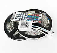 abordables -300 LED RGB Control remoto Cortable Color variable Auto-Adhesivas DC 12V