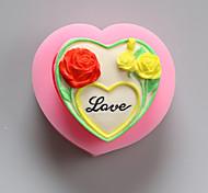 цветы любят шоколад силиконовые формы, формы торта, мыло прессформы, инструменты украшения выпекание