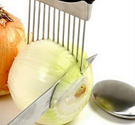 cheap -Onion Holder Slicer Vegetable Tools Tomato Cutter Meat Hamstring Fork Stainless Steel Kitchen Gadgets