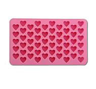 1 PCS 55 holes Mini heart silicone cake mold Baking Mould Chocolate Decoration Silicone DIY Heart Shape Mold