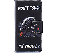 Grim Reaper Pattern Card Phone Holster for Samsung Galaxy A310/A510