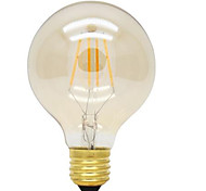cheap -HRY 1pc 360 lm E26/E27 LED Filament Bulbs G125 4 leds High Power LED Decorative Warm White AC 220-240V