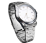 Men's Dress Watch Mechanical Watch Automatic self-winding Casual Watch Stainless Steel Band Luxury Silver