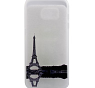 Eiffel Tower Pattern Frosted TPU Material Phone Case for Samsung Galaxy S7 Edge/S7/S6 Edge Plus/S6 Edge/S6/S5/S4/S3