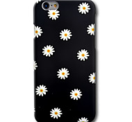 abordables -Funda Para Apple iPhone 8 iPhone 8 Plus iPhone 6 iPhone 6 Plus Diseños Funda Trasera Flor Dura ordenador personal para iPhone 8 Plus