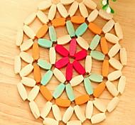 Круглый Салфетки-подстилки Бирдекели , Бамбук материал
