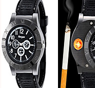 cheap -Men's Fashion Watch Wrist watch Quartz Lighter Alloy Band Casual Black Brown