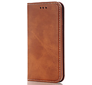 Retro Matte Solid high-Grade Leather Phone Sets for iPhone 5C/5/5S/SE/6/6S/6 Plus/6S Plus